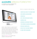 eLearn Urban Forestry:  The USFS and SREF have Launched a Brand New Professional Development Program in Urban Forestry