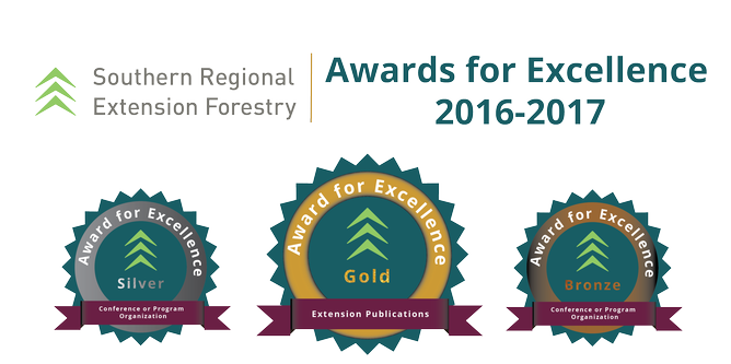 Southern Regional Extension Forestry Awards 2016-2017